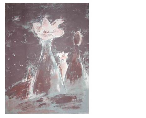 Nachtleben, 2002, silkscreen, 57 x 76 cm