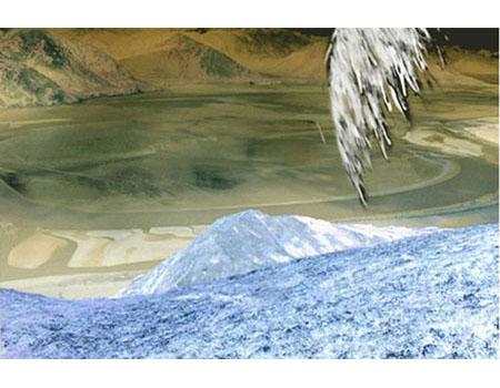 Icarus I, 2004, edition of 3, digital print, 108 x 78,5 cm