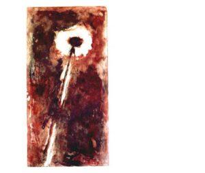 Meteor, 2002, edition, carborundum print, 53 x 97 cm