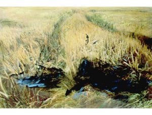 Raven, 1989, mixed media, inkjet print, 76 x 57 cm